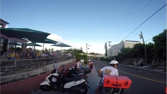 GoPro Bermuda Moped Ride 3