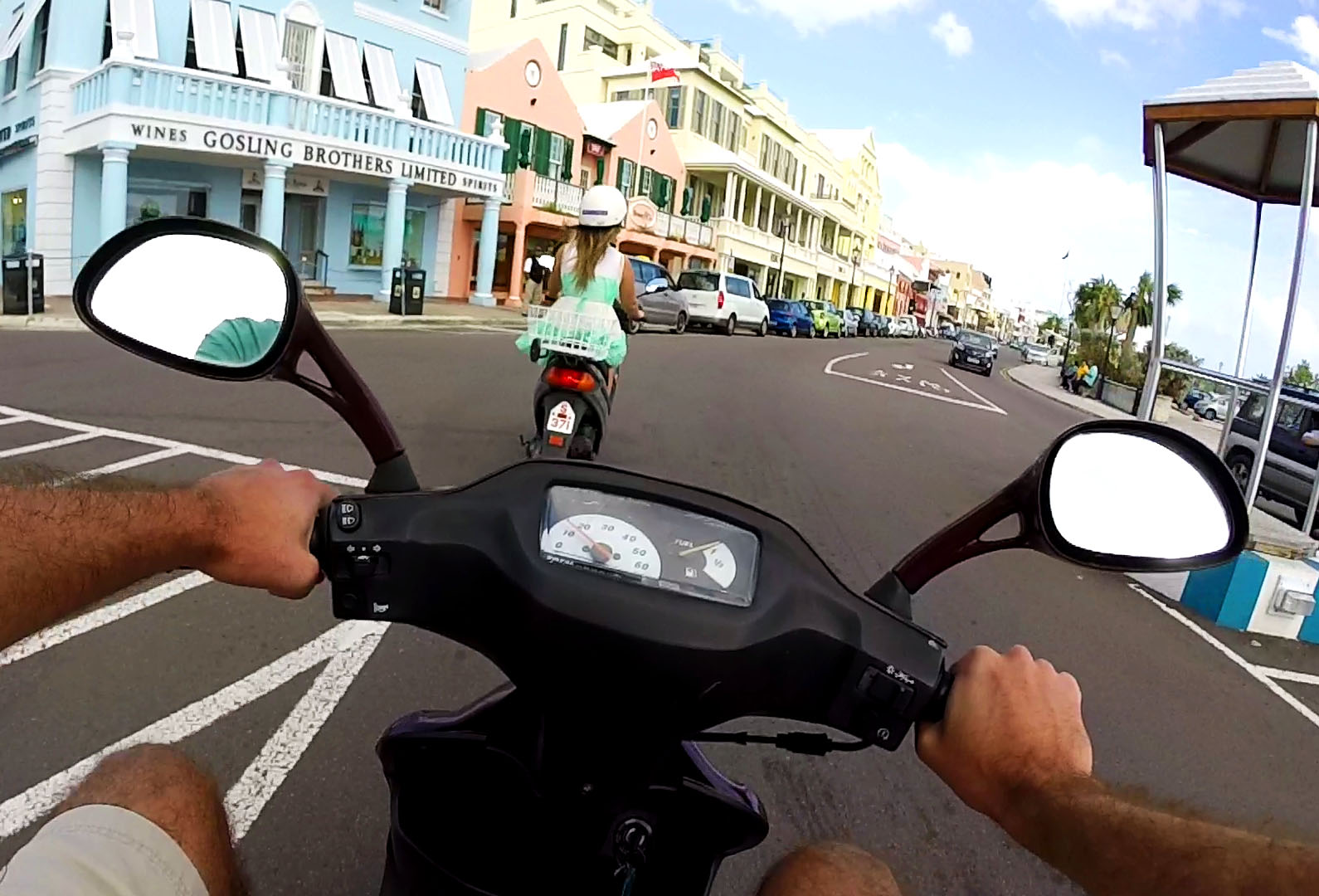 Bermuda Scooter We Are Bermuda