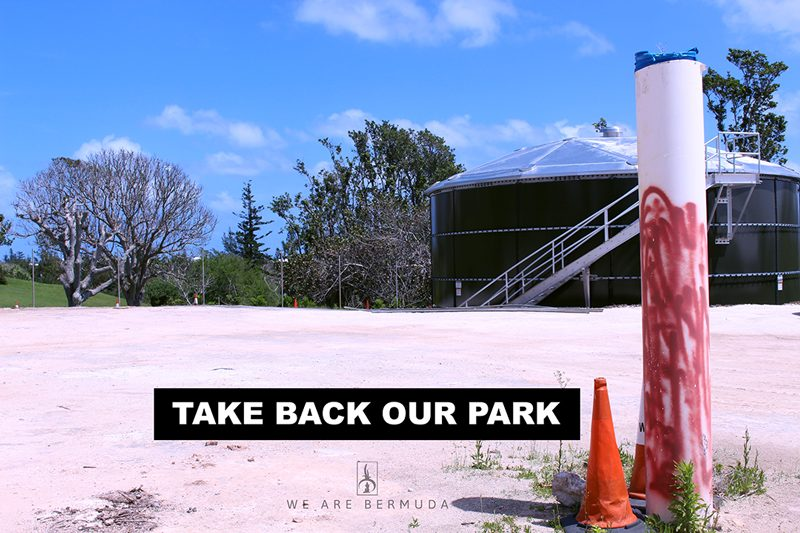 TAKE BACK OUR PARK INTERVIEW WITH WE ARE BERMUDA