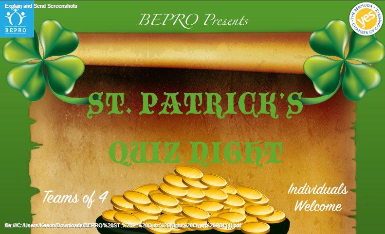 BEPRO ST. P. Quiz Night