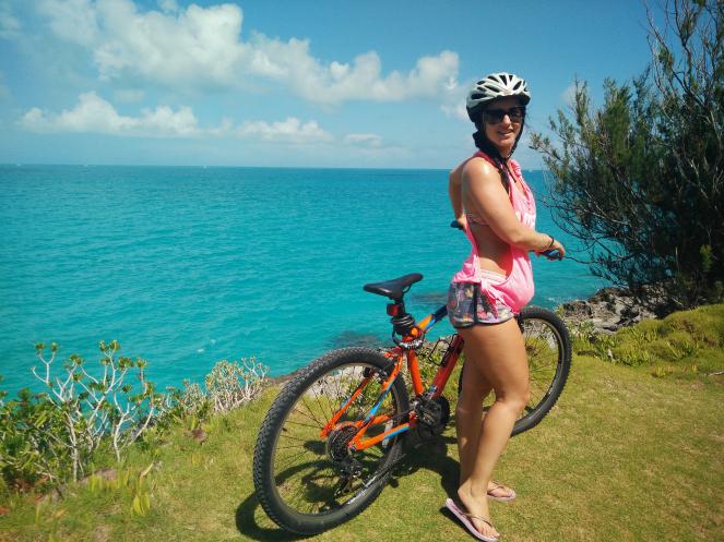 Cycling in Paradise Bermuda