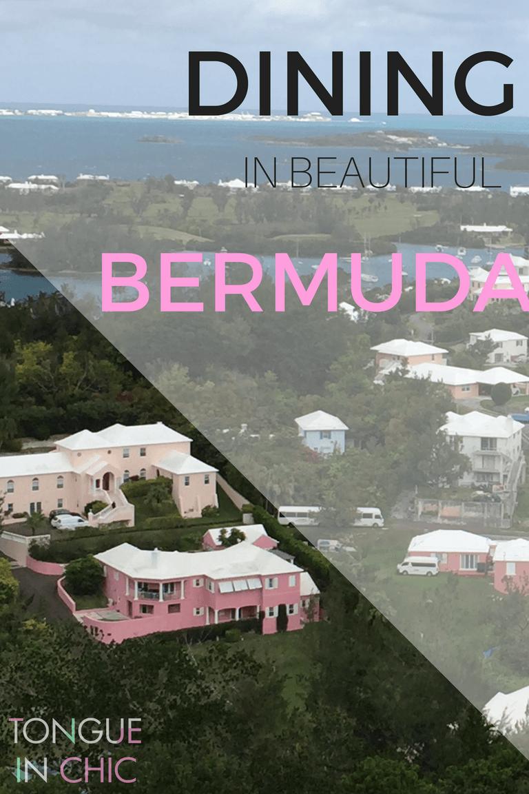 DINING IN BERMUDA : TOP 3 RESTAURANTS ON THE ISLAND
