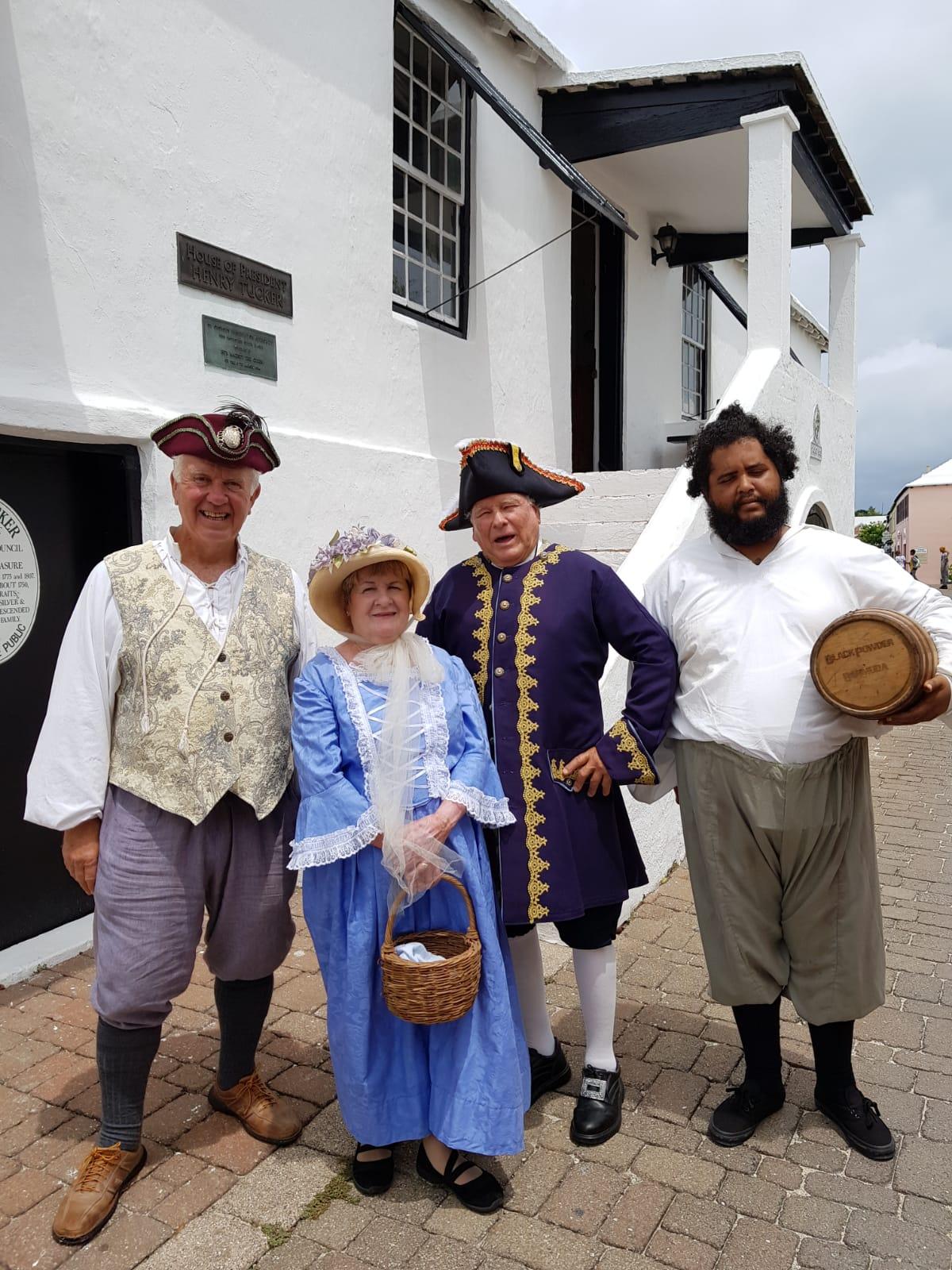 Bermuda's Gunpowder Plot history comes alive for St George's visitors