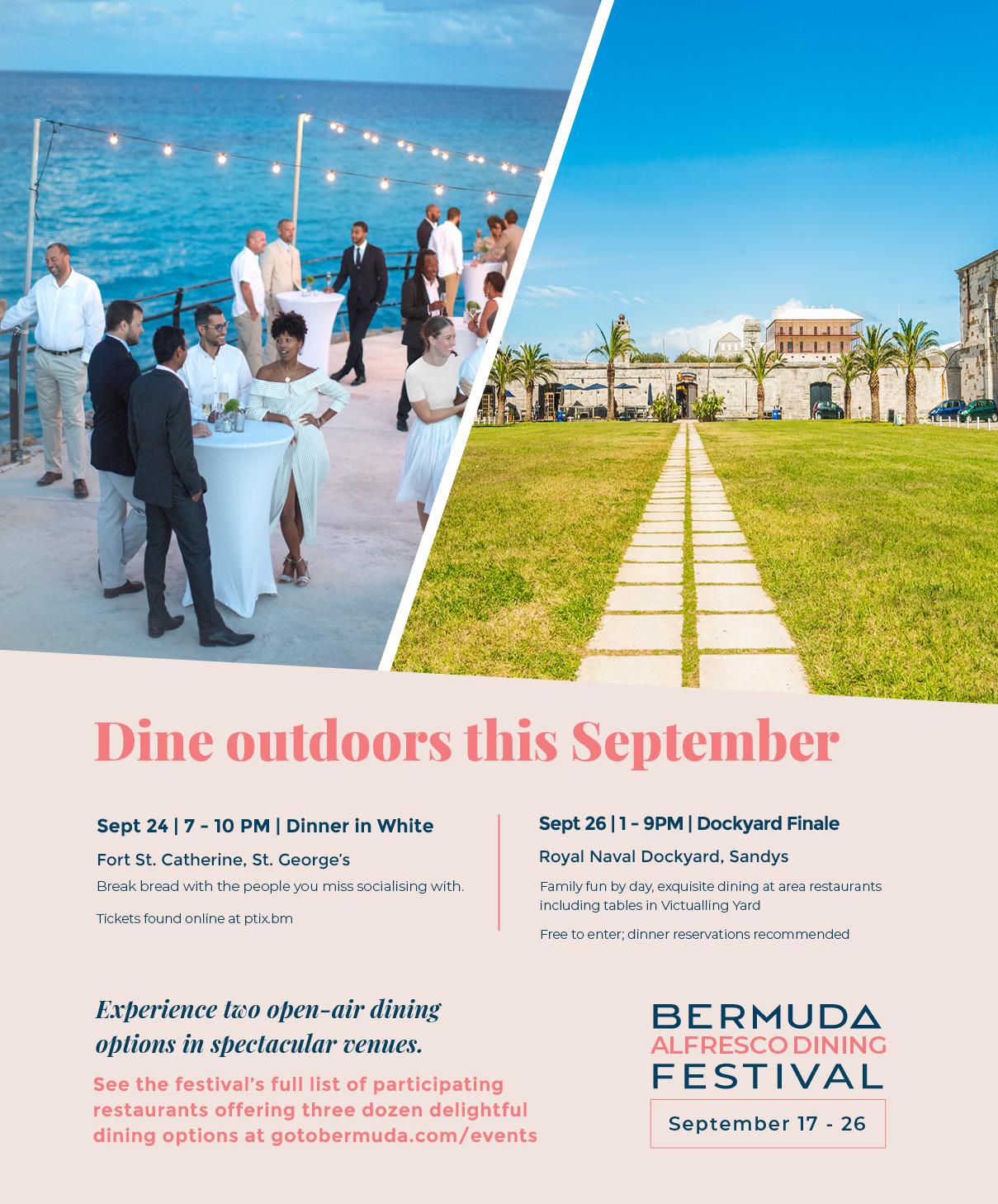 Bermuda Alfresco Dining Festival