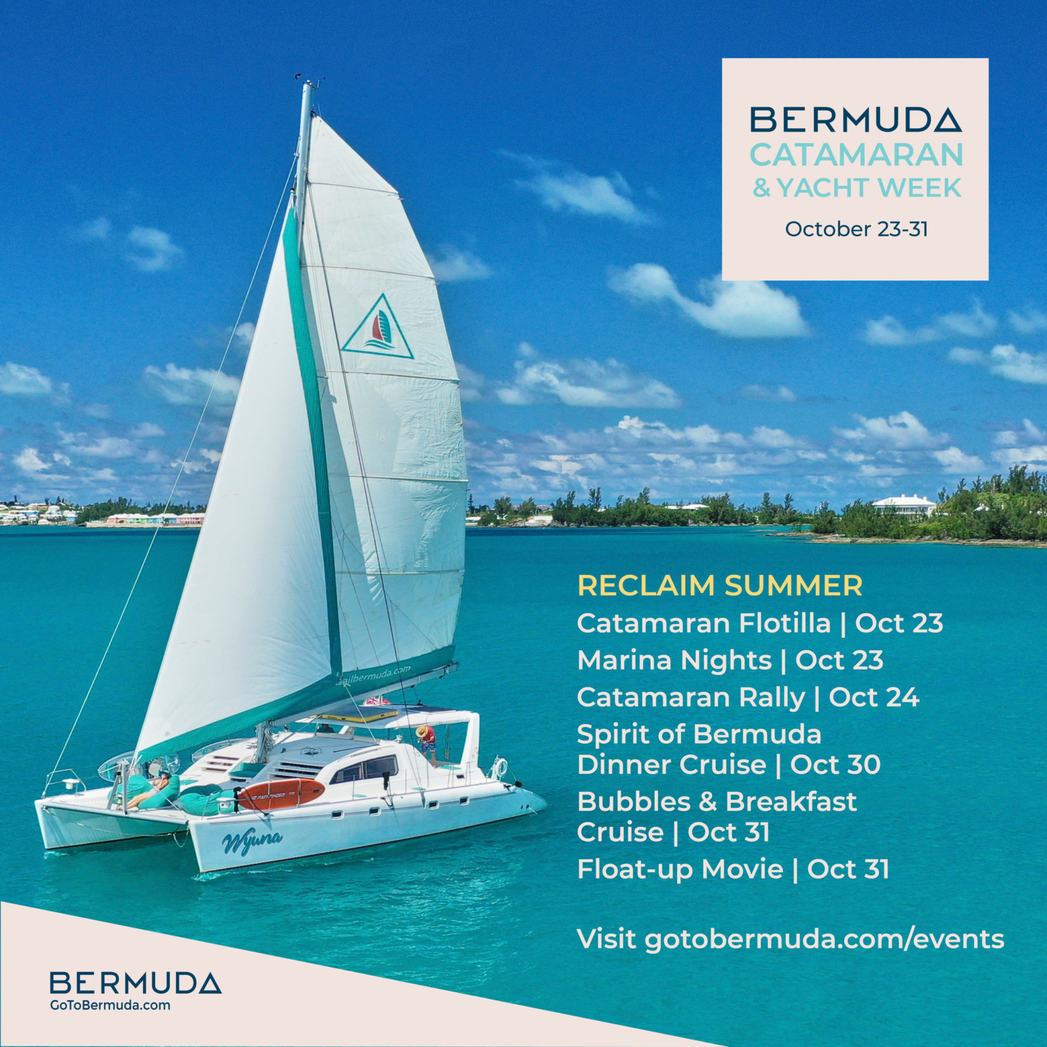 Bermuda Catamaran
