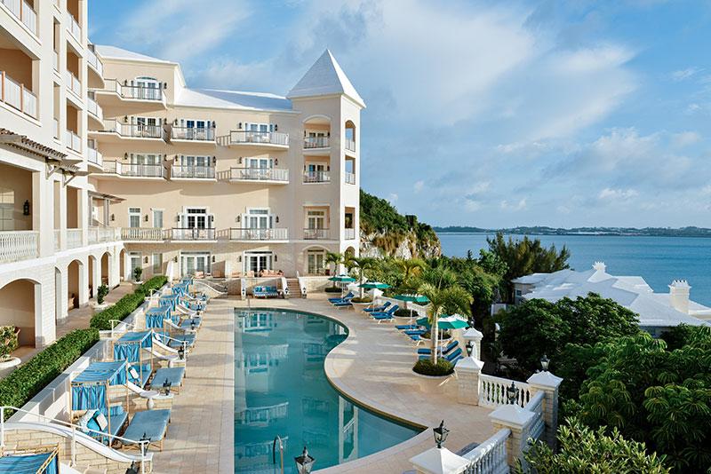 Bermuda Residents Escape